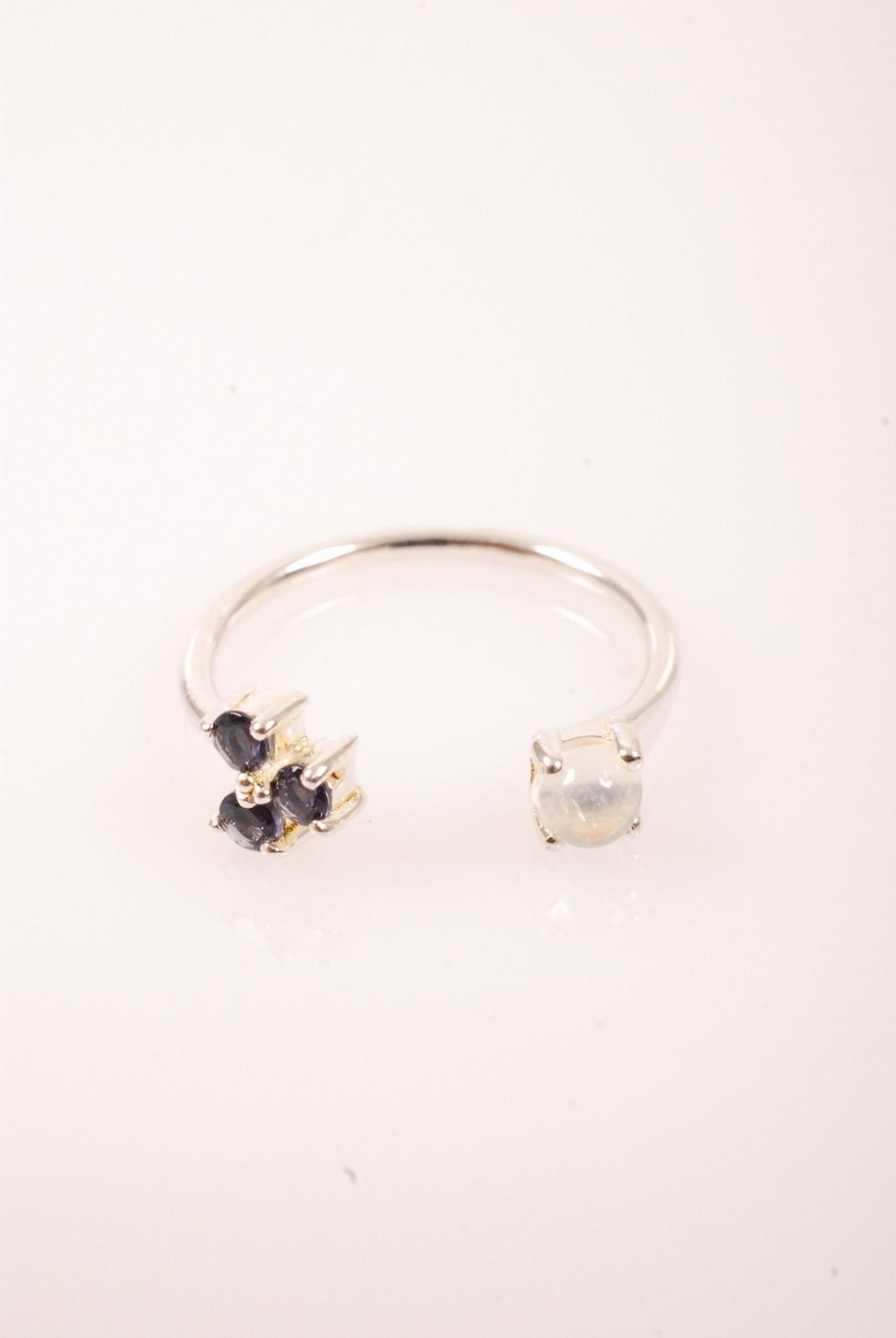 PAMELA LOVE ring quantum silver