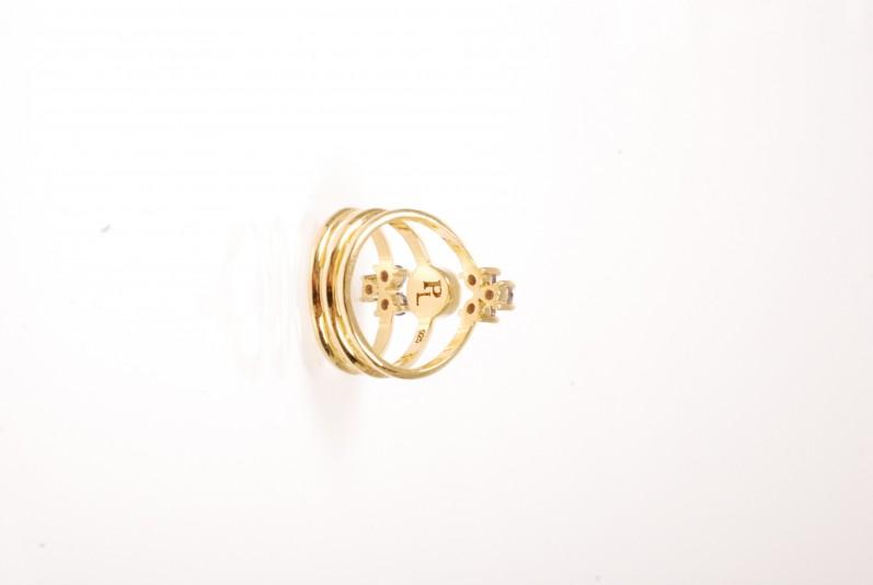 PAMELA LOVE ring kinetic gold