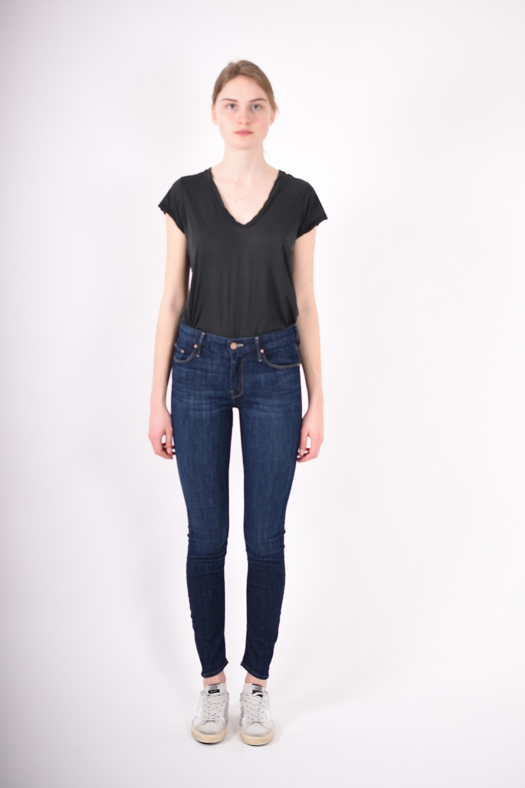 MOTHER jeans looker skinny
