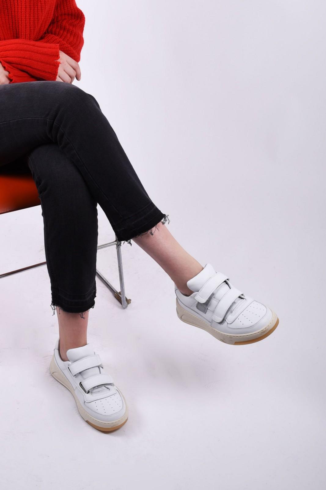 ACNE STUDIOS velcro sneakers white, please contact us