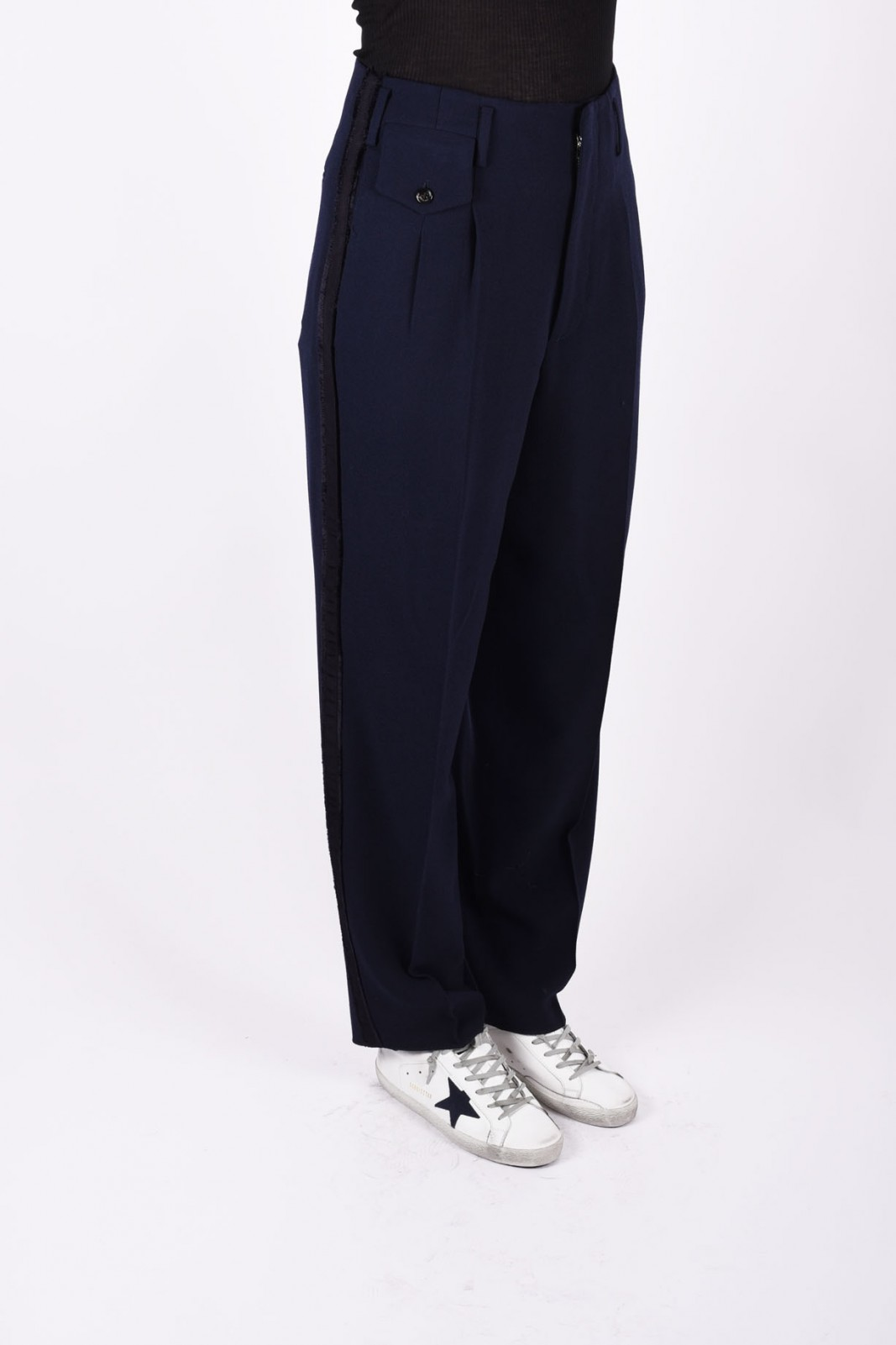 GOLDEN GOOSE DELUXE BRAND loose fit trousers