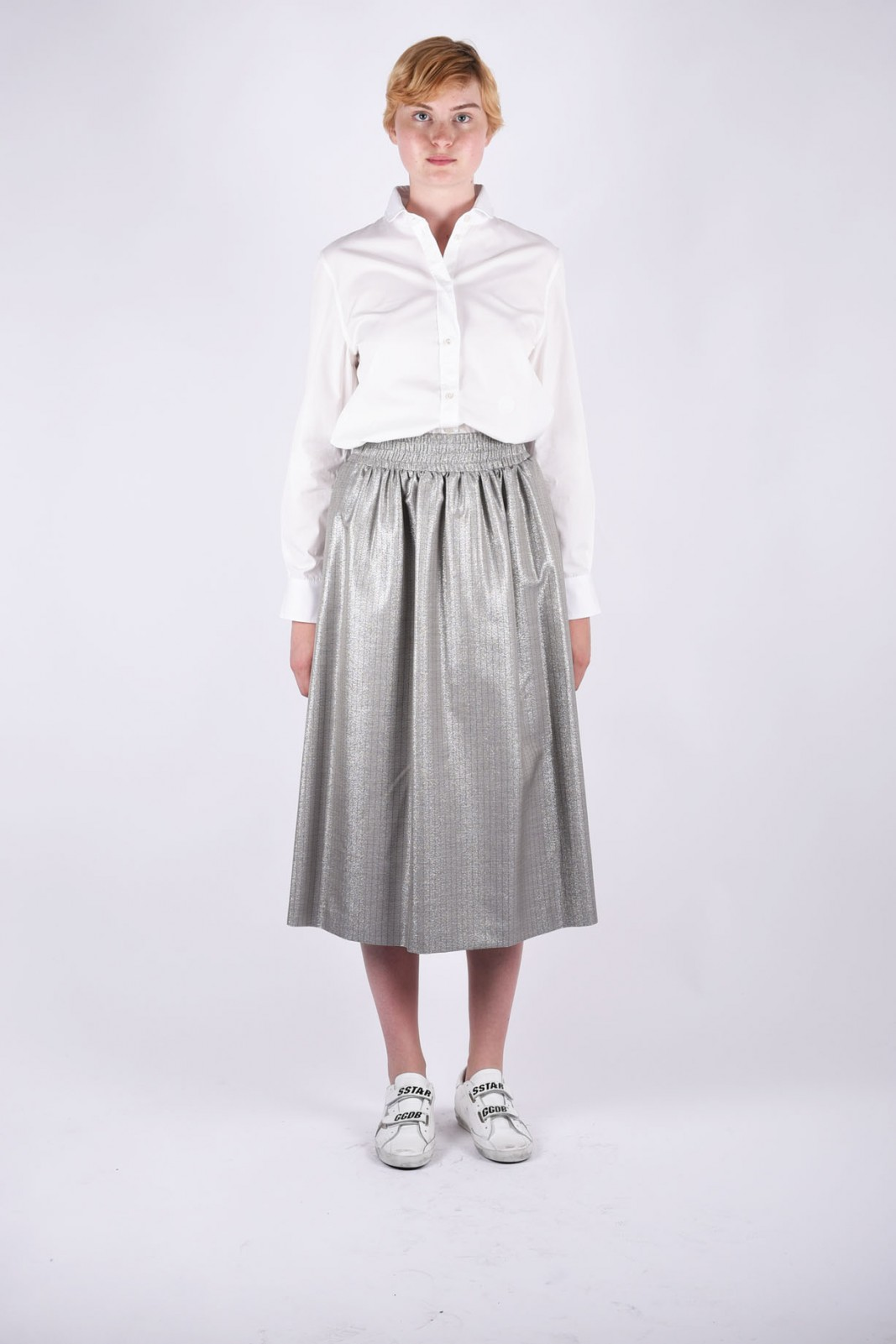 GOLDEN GOOSE DELUXE BRAND elasticated waist skirt