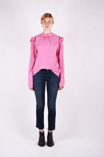 MSGM high neck blouse