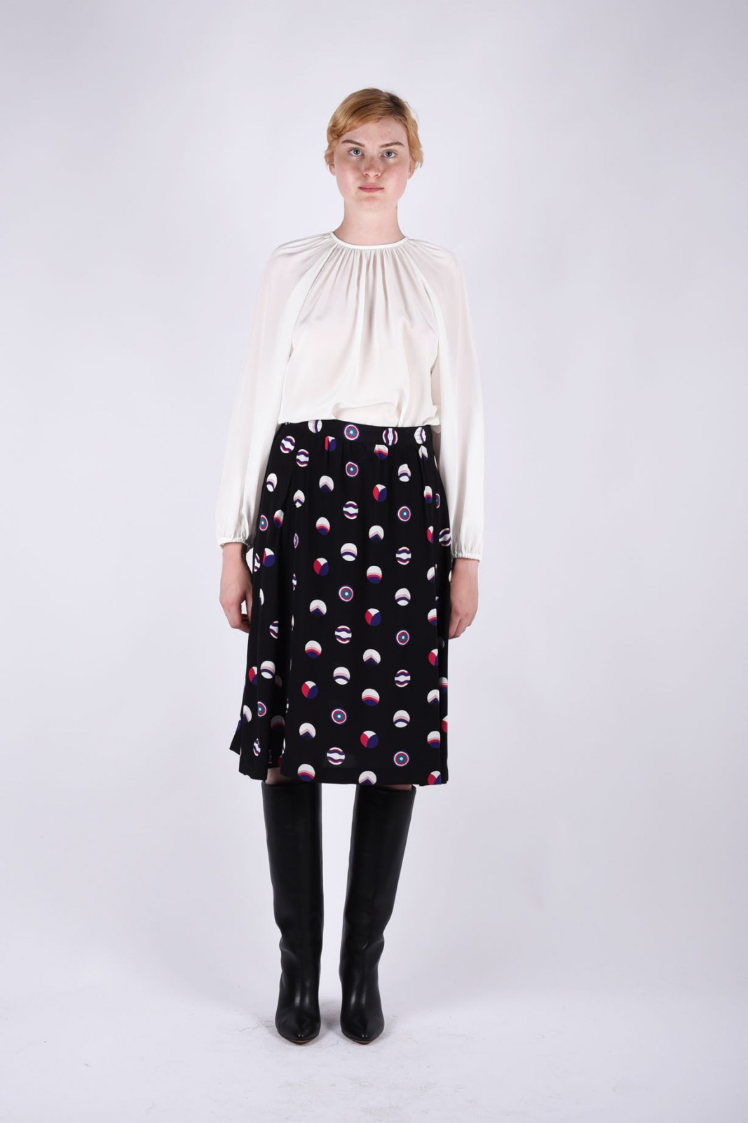 VANESSA SEWARD alvara high-waisted skirt