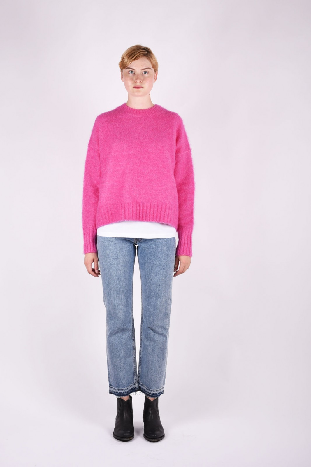 HELMUT LANG Wool and alpaca-blend sweater