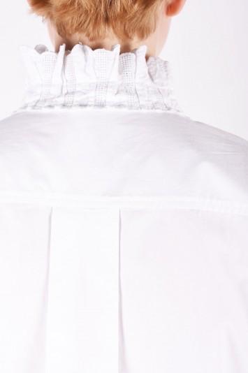 ISABEL MARANT ÉTOILE Mora embroidered cotton shirt