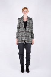 ISABEL MARANT ÉTOILE ice plaid wool-blend blazer