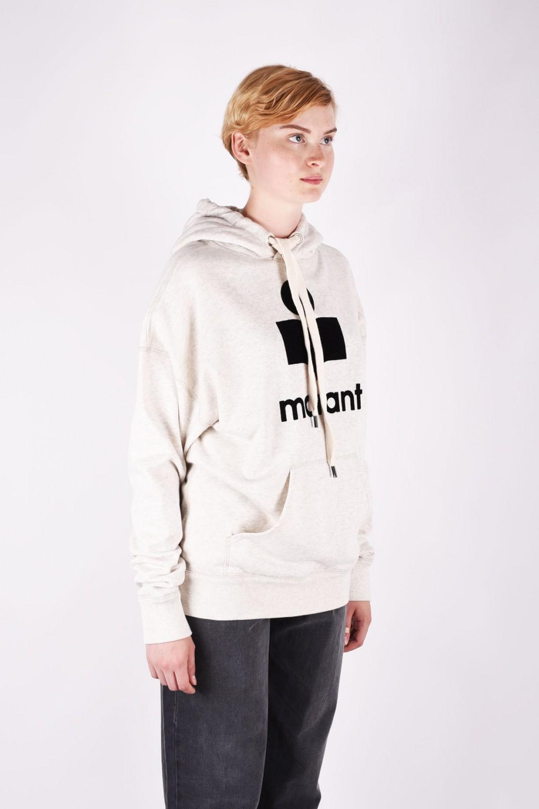ISABEL MARANT ÉTOILE mansel oversized cotton-blend hoodie