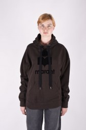 ISABEL MARANT ÉTOILE mansel oversized cotton-blend hoodie
