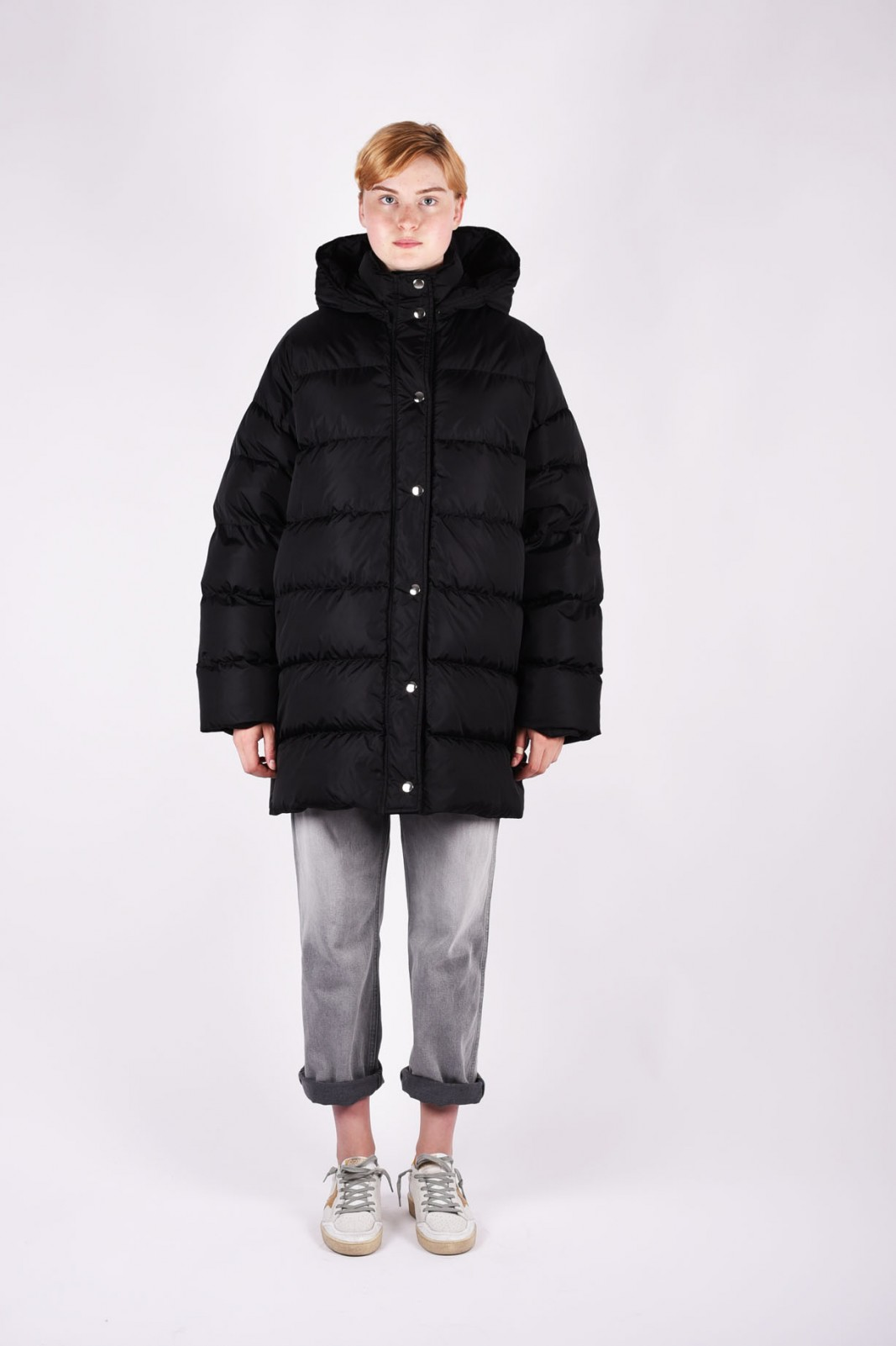 MSGM oversized padded coat