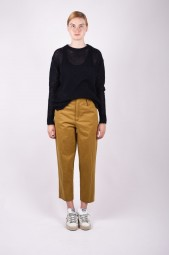 FORTE FORTE cropped chino trousers