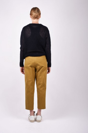 FORTE FORTE long-sleeve fitted sweater