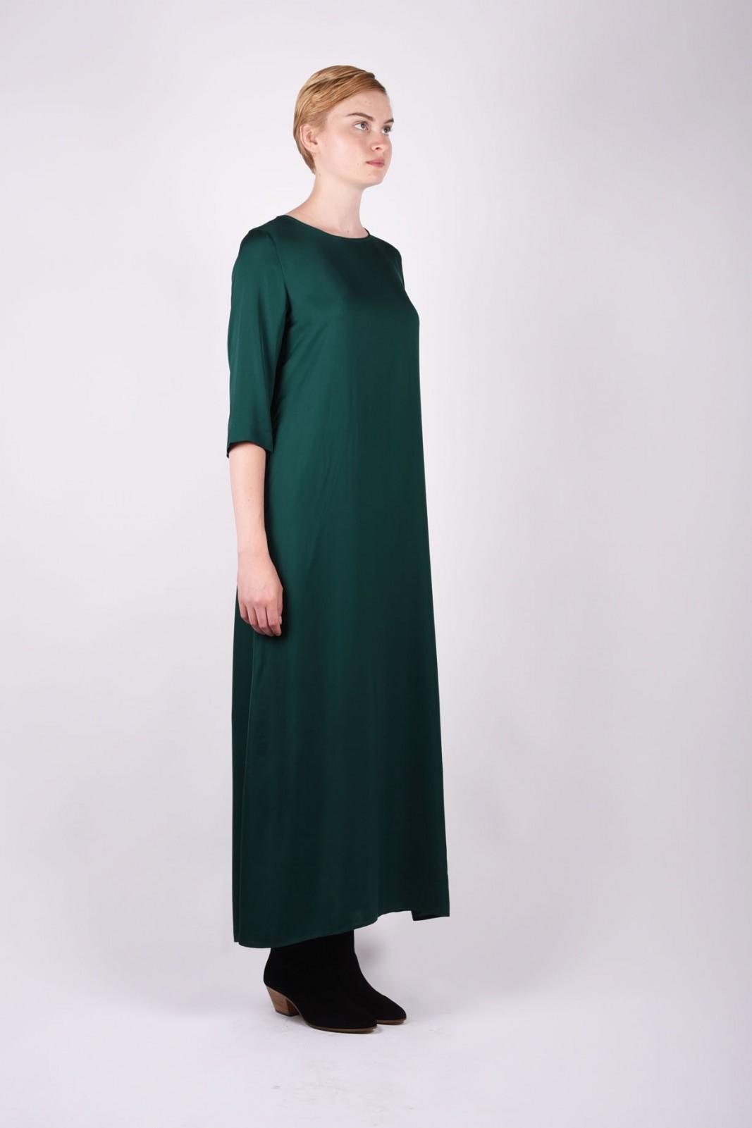 BARENA dress gentuca green