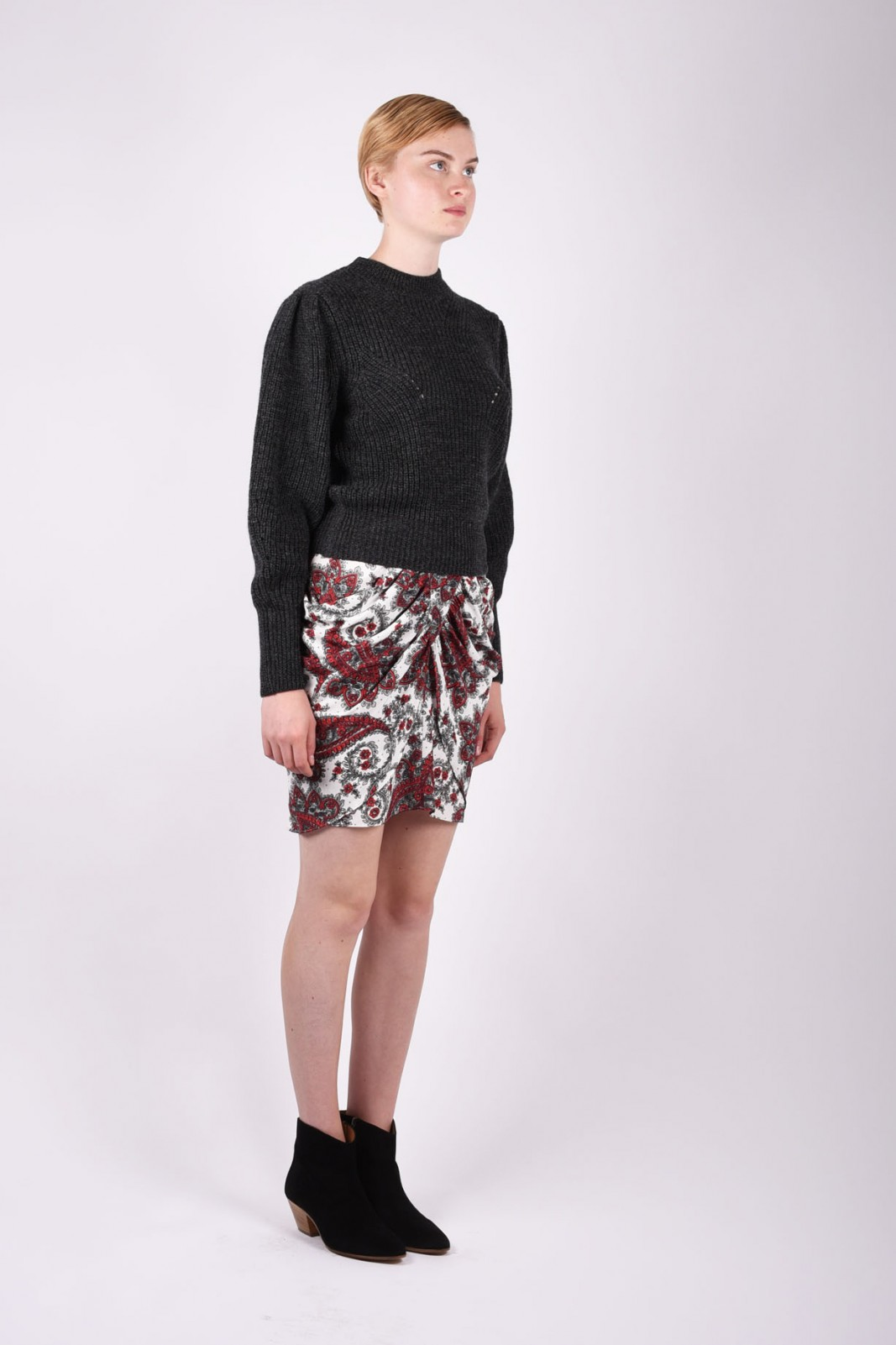 ISABEL MARANT draped skirt