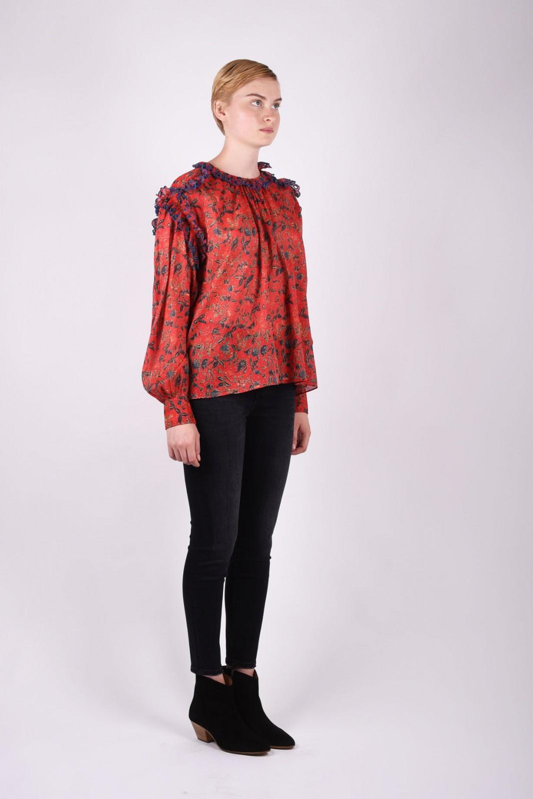 ISABEL MARANT ÉTOILE EVA printed blouse