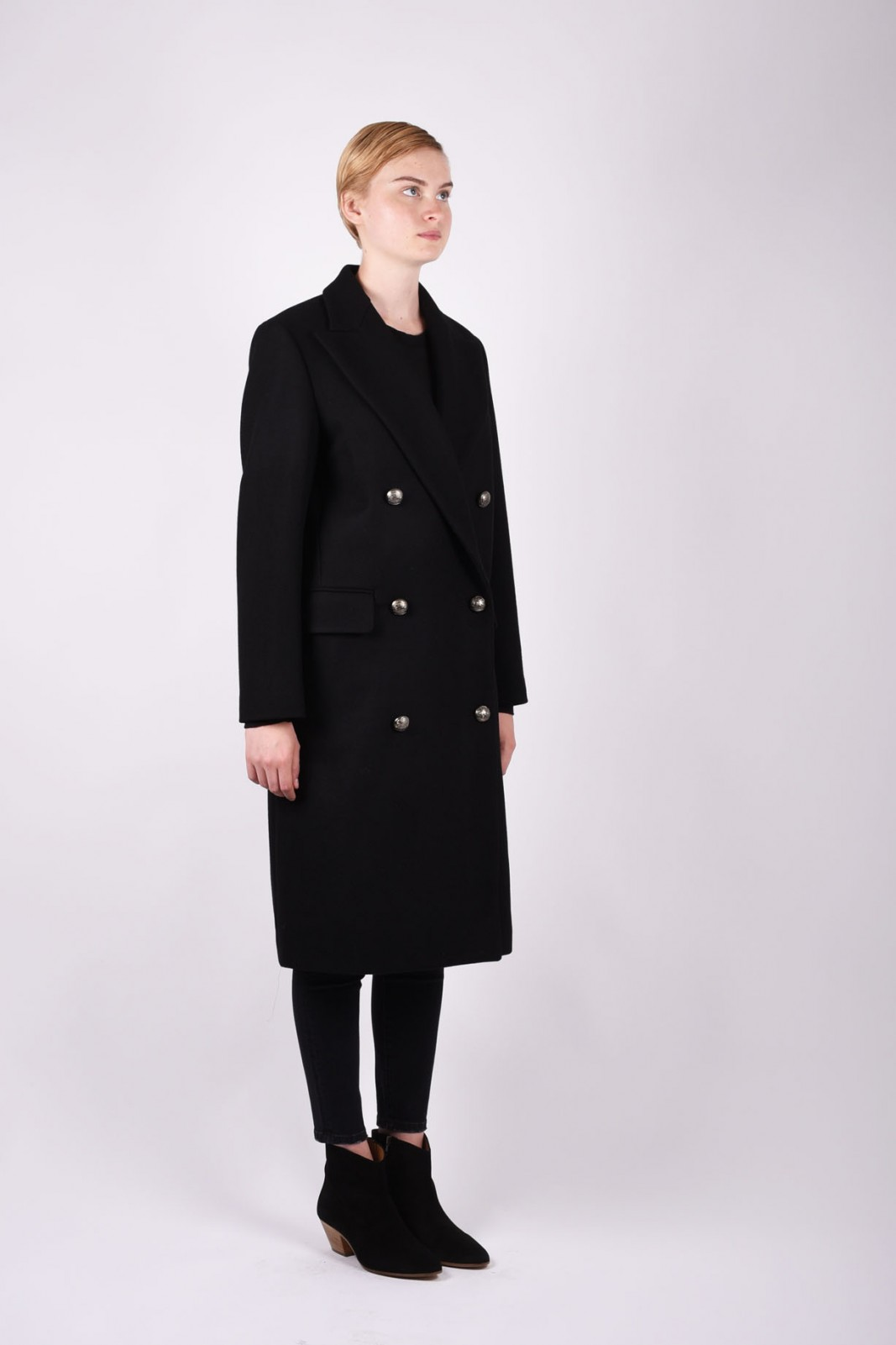 MSGM formal long coat