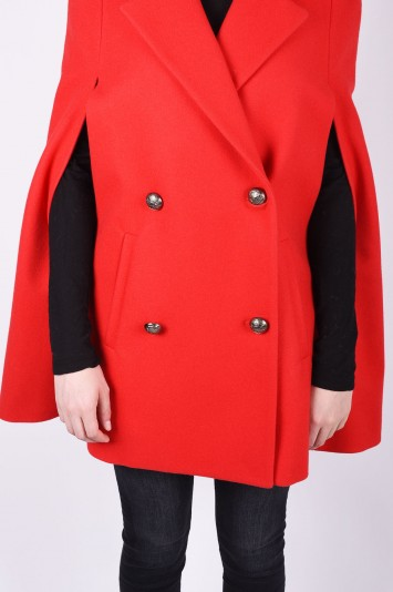 MSGM double breasted cape