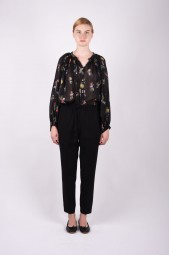 FORTE FORTE floral print blouse