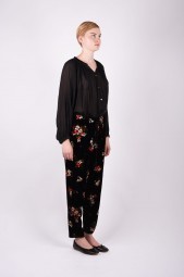FORTE FORTE flared button blouse