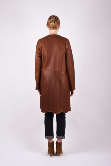 GIORGIO BRATO shearling coat