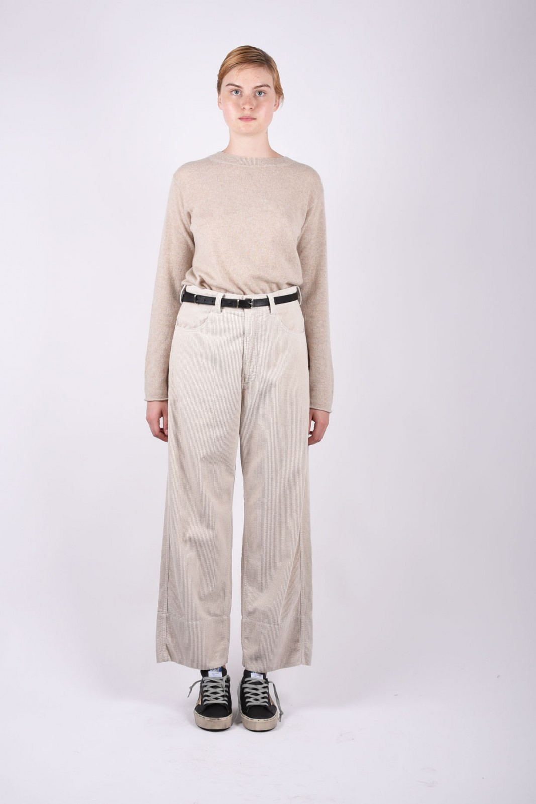 SOFIE D'HOORE high-waisted corduroy trousers